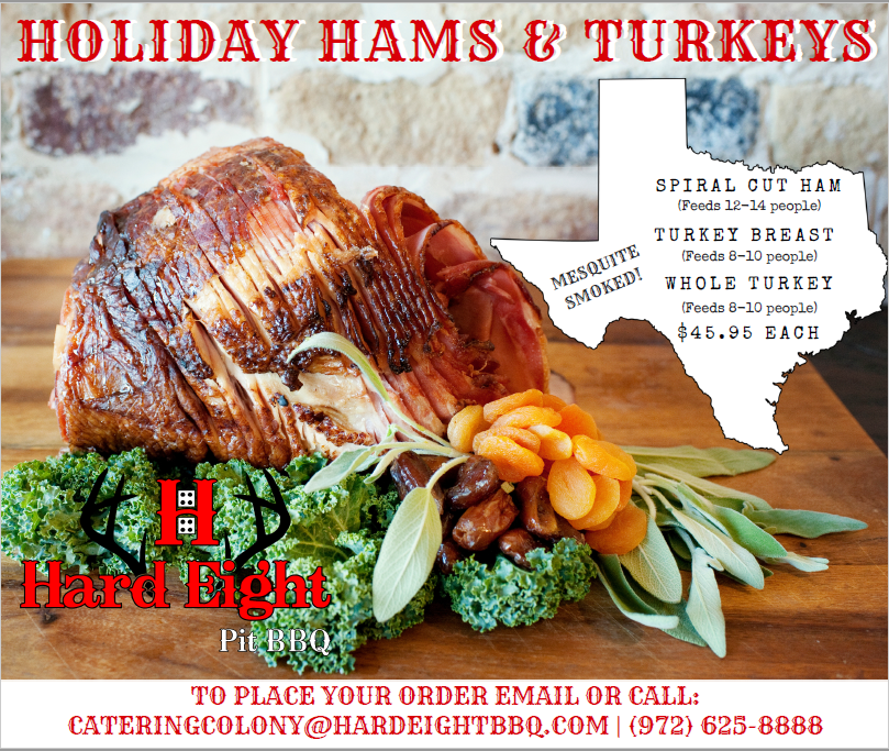 Hard Eight - Holiday Hams