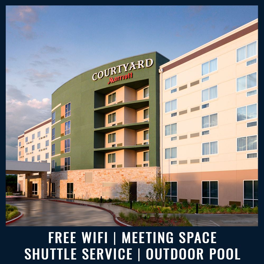 CCourtyard by Marriott - Free Wifi | Meeting Space | Shuttle Service | Outdoor Pool